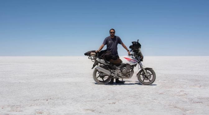 Julio Callegari, de Mar del Plata a Alaska