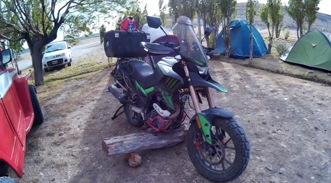 La moto siempre se me cae