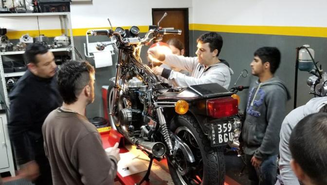 Servis de la moto